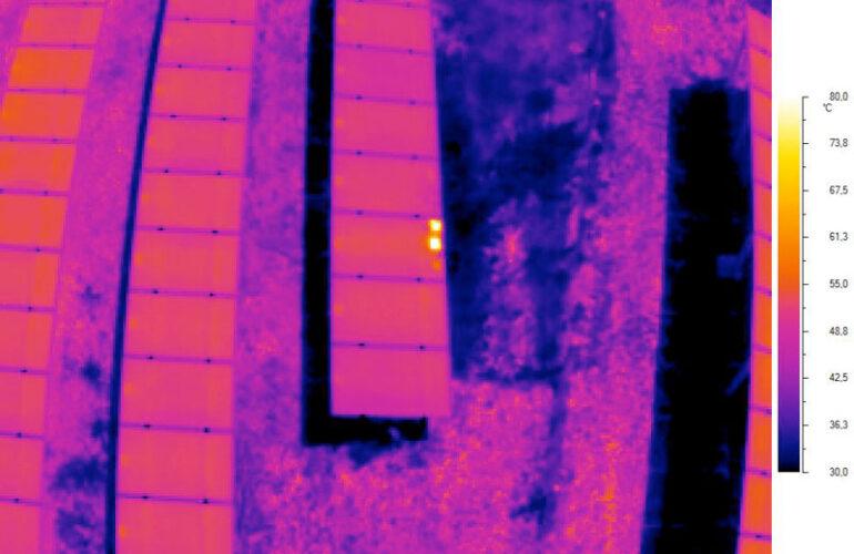 Termografia impianto